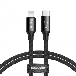 Baseus Yiven USB-C to Lightning Cable 150cm 2A - Black
