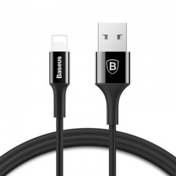 Baseus Lightning Cable with Backlight connector 1m (Black)