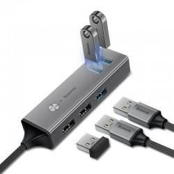 Adapter HUB Baseus USB-C to 3x USB 3.0 + 2x USB 2.0