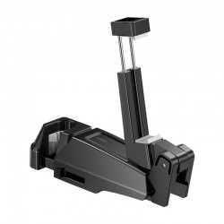 Uchwyt na telefon, smartfon Baseus na zagłówek samochodowy (czarny)
