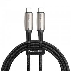 Kabel USB-C PD Baseus Water Drop Power Delivery 2.0 60W 1m (czarny)