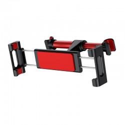 Baseus tablet holder for car headrest (red)