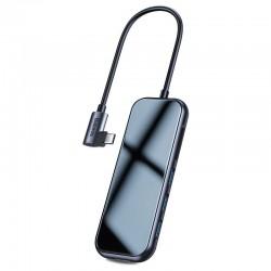 6in1 Baseus Hub USB-C to 3x USB 3.0 + HDMI + USB-C PD + SD/microSD adapter