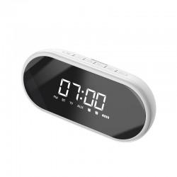 Baseus Encok E09 Wireless Bluetooth Speaker, clock (white)