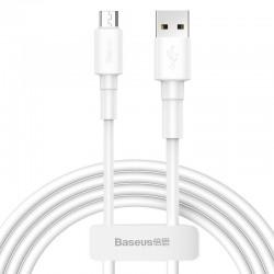 Baseus Mini micro USB cable 2.4A 1m (White)