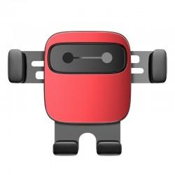 Baseus Cube Gravitational car holder on ventilation grid (Red)