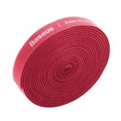 Baseus Rainbow Circle Velcro Straps 3m Red