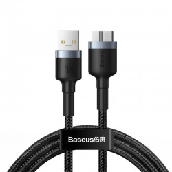 Baseus cafule Cable USB3.0 Male To Micro-B 2A 1m Black+Gray