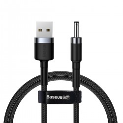 Baseus Cafule Cable USB to DC 3.5mm 2A 1m Gray+Black