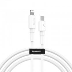 Baseus Mini White Cable Type-C to iP PD 18W 1m White