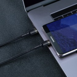 Baseus Cafule PD2.0 60W flash charging USB For Type-C cable (20V 3A) 2m Gray+Black