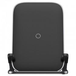 Baseus Rib Horizontal and Vertical Holder Wireless Charging 15W Black
