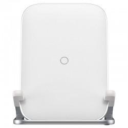 Baseus Rib Horizontal and Vertical Holder Wireless Charging 15W White