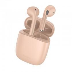 Baseus Encok True Wireless Earphones W04 Pro Pink