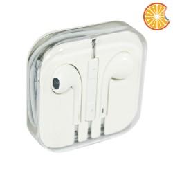 Cuffie auricolari per Apple Iphone 4, 5, 6 stereo microfono e controllo volume
