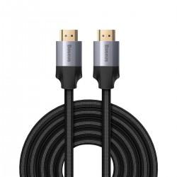 Baseus Enjoyment Series HDMI 4K Male To HDMI 4K Male Cable 5m Dark gray