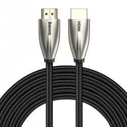 Baseus Horizontal 4KHDMI Male To 4KHDMI Male Adapter Cable 5m Black