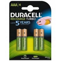 Batteries NiMH Duracell 900 mAh LR03/AAA 4 pcs