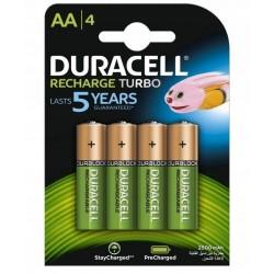 Batteries NiMH Duracell 2500mAh LR6/AA 4 pcs