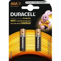 Duracell Alkaline batteries Basic LR03/AAA 2 pcs