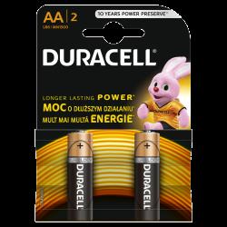 Duracell Alkaline batteries Basic LR6/AA 2 pcs