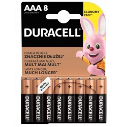 Duracell Alkaline batteries Basic LR03/AAA 8 pcs