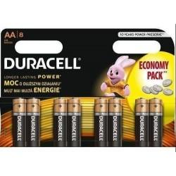 Duracell Alkaline batteries Basic LR6/AA 8 pcs