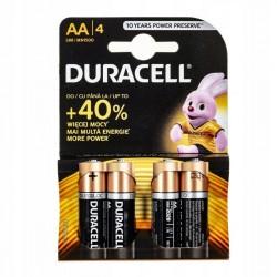 Duracell Alkaline batteries Basic LR6/AA 4 pcs