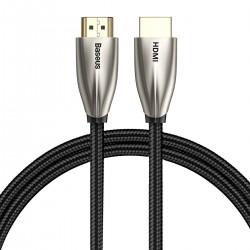 Baseus Horizontal 4KHDMI Male To 4KHDMI Male Adapter Cable 2m Black