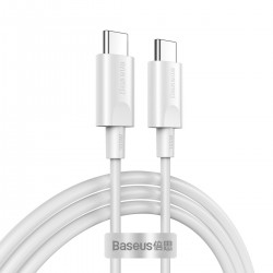 Baseus Xiaobai PD2.0 100W flash charging USB For Type-C cable (20V 5A) 1.5m (white)