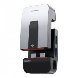 Baseus Armor Age 9in1 Adapter Hub 3x USB 3.0 + HDMI + 2x ThunderBolt 3 + USB-C + jack 3,5mm to Apple MacBook Pro