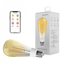 Smart Yeelight LED Filament bulb ST64 - E27