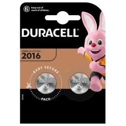 Duracell Lithium batteries 2016 2 pcs