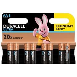 Duracell Alkaline batteries Ultra Power LR6/AA 8 pcs
