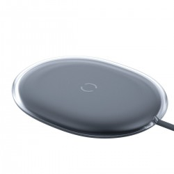 Baseus Jelly wireless induction charger, 15W (black)
