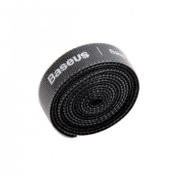 Baseus Colourful Circle Velcro Straps 1m Black