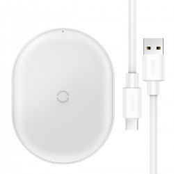 Baseus Cobble wireless induction charger, 15W (White)