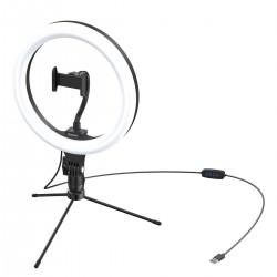 Baseus Live Stream Holder-table Stand (10-inch Light Ring)Black