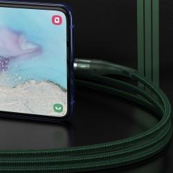 USB magnetic cable - USB-C Baseus Zinc 3A 1m (green)