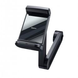 Car headrest holder for Baseus Energy phone with charger (Black)