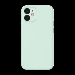 Baseus Liquid Silica Gel Case dla iPhone 12 Mini (green)
