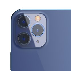 Lens protective film 0.15mm Baseus for iPhone 12 Pro Max (2 pcs)
