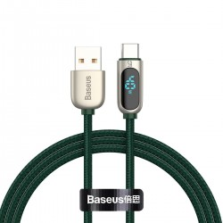 Baseus Display Cable USB to Type-C 5A 1m (green)