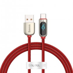 Baseus Display Cable USB to Type-C 5A 1m red