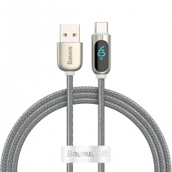 Baseus Display Cable USB to Type-C 5A 1m silver