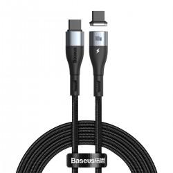 Baseus Zinc Magnetic USB-C - USB-C Cable 100W 1.5m (Black)