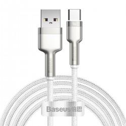 Kabel USB do USB-C Baseus Cafule, 40W, 2m (biały)