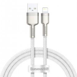 Kabel USB do Lightning Baseus Cafule, 2.4A, 1m (biały)