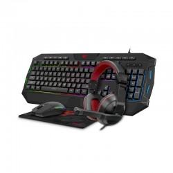 Gaming set 4in1 Havit GAMENOTE KB501CM headphones + keyboard + mouse + mouse pad