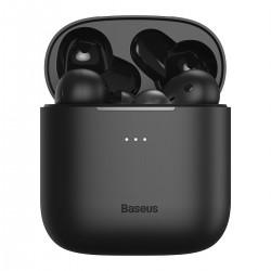 Baseus Encok W06 TWS headphones, Bluetooth 5.0, aptX, inductive charging (black)
